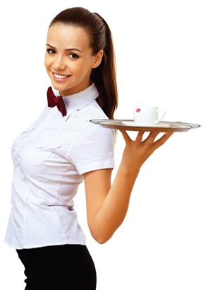 Вакансия официантка Киев, работа официант в Киеве